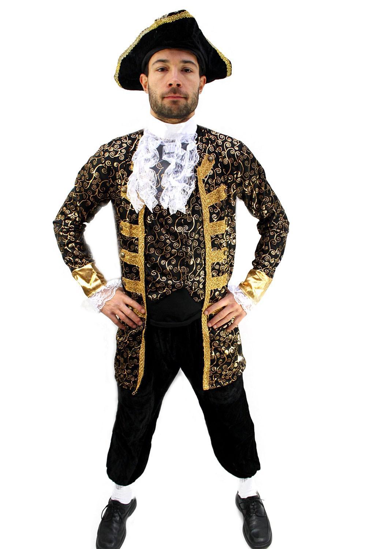 kostuem edelmann pirat nobleman kapitaen barock karibik