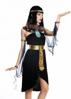 Kostüm Damen Frauen Karneval Ägypterin Kleopatra Cleopatra Pharaonin M/L W-0264 - Vorschau 1