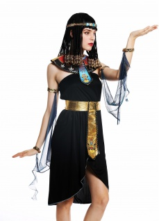 Kostüm Damen Frauen Karneval Ägypterin Kleopatra Cleopatra Pharaonin S/M W-0264