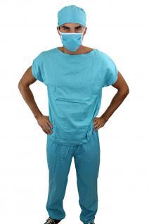 Dr. Med. Sexy Herrenkostüm Kostüm Scrub Doktor Arzt Chirurg OP-Kittel K45 NEU