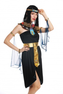 Kostüm Damen Frauen Karneval Ägypterin Kleopatra Cleopatra Pharaonin S/M W-0264 - Vorschau 4
