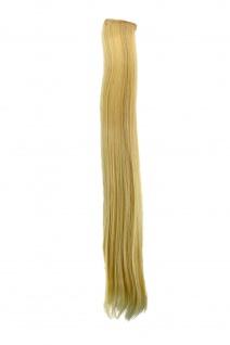 2 Clips Extension Strähne glatt Hell-Blond YZF-P2S25-88 65cm Haarverlängerung