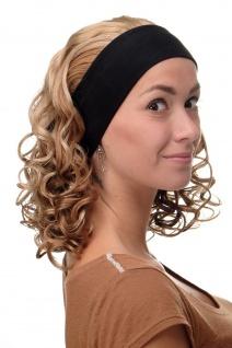 Damenperücke Perücke Stirnband voluminös Locken Blond Blond-Mix BRO-704-G15 - Vorschau 3