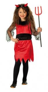 Rubies: Kleine Teufelin Modell 1/2422 Kinderkostüm Kostüm Teufel Kleid Satan