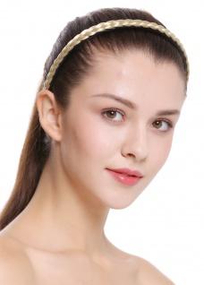 Haarband Haarreif geflochten Tracht traditionell hellblond braid CXT-004-320