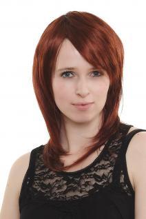Unverschämt Sexy! Damenperücke Perücke rot mittellang top modisch 3269-35