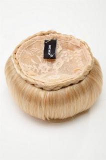 WIG ME UP - Haarteil Dutt Haarknoten 50er 60er Vintage Gold-Blond N372-LG26 - Vorschau 4