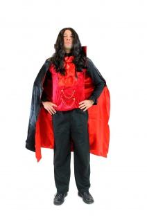 DRESS ME UP - Kostüm Herren Dracula Vampir Dunkler Graf Barock Mittelalter L061 - Vorschau 3