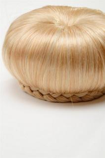WIG ME UP - Haarteil Dutt Haarknoten 50er 60er Vintage Gold-Blond N372-LG26 - Vorschau 3