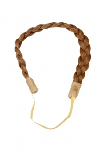 Haarteil: geflochtener Haarreif Haarband Haarkranz Blond YZF-3080-18