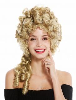Perücke Damen Karneval Barock Turmfrisur Beehive Pompadour Blond 91029-ZA68E - Vorschau 2