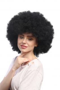Perücke Karneval Fasching Großer Afro Afroperücke XXL Schwarz XR-002-P103 - Vorschau 2