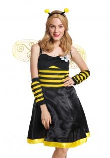 Kostüm Damen Damenkostüm Frauen Flotte Biene Bienchen Wespe Hummel Gr M/L W-0057