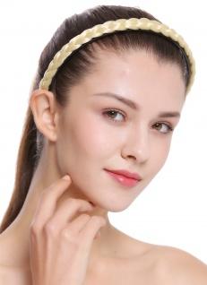 Haarband Haarreif geflochten Tracht traditionell hellblond braid CXT-003-026