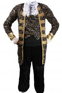 Kostüm EDELMANN Pirat Nobleman Kapitän BAROCK Karibik Mittelalter Herren K1 - Vorschau 3