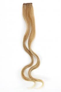 1 CLIP Extension Strähne wellig Blond-Mix YZF-P1C18-27T88 45cm Haarverlängerung