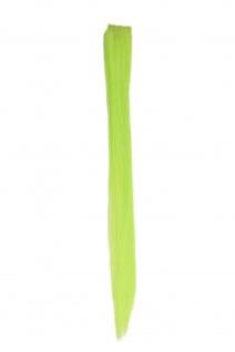 1 Clip Extension Strähne Haarverlängerung glatt Hellgrün 45cm YZF-P1S18-TF2606