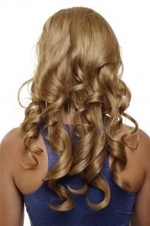 Clip-in Haarteil mit 7 Klammern 3/4 Perücke Blond Aschblond ca. 50cm H9503-19