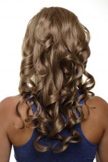 Clip-in Haarteil mit 7 Klammern 3/4 Perücke Blond Honigblond ca. 50cm H9503-15