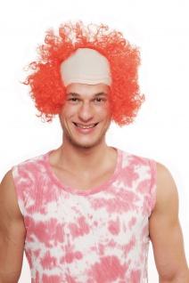 Fasching Karneval Halloween Perücke Herren Damen Clown Es Zirkusclown 3920-PC13
