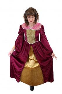 Aufwändiges Kostüm Damenkostüm Mittelalter Edelfrau Gothic Cosplay Märchen L003