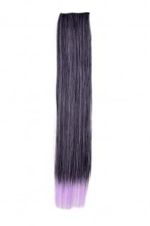 2 CLIP Extension Strähne Haarverlängerung Violett glatt YZF-P2S18-1BTTF2403A