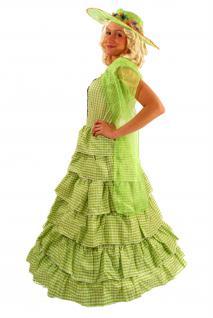 Kolonial Kostüm Kleid Barock Biedermeier Südstaaten Civil War Unabhängigkeit K26 - Vorschau 3