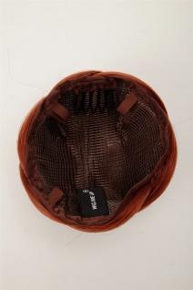 Dutt Haarteil aufwendig geflochten Haarknoten Brautschmuck Kupfer-Rot Q399D-350 - Vorschau 3