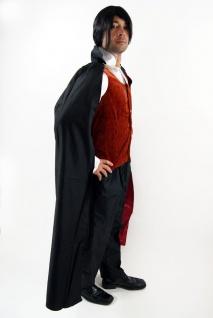 Kostüm DRACULA Vampir Gothic HALLOWEEN Herren Transsilvanien Blutsauger K38 - Vorschau 2