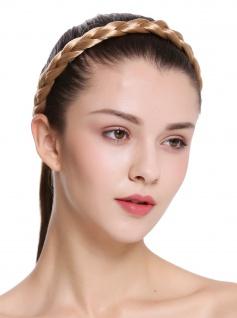 Haarband Haarreif geflochten traditionell breit honigblond braid CXT-005-216