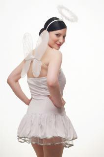 Kostümset Damenkostüm Kleid : Sexy Engel Angel Engelchen Unschuld Ballerina L018 - Vorschau 3