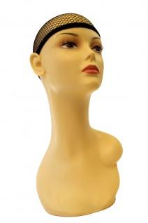 Haarnetz Unterziehhaube Perücken schwarz Haube Perückennetz Wig Cap HNS - Vorschau 4