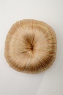 WIG ME UP - Haarteil Dutt Haarknoten 50er 60er Vintage Gold-Blond N372-LG26 - Vorschau 2