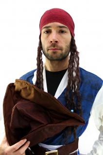 Kostüm Pirat Herren Karibik Freibeuter Piratenkostüm Jack Carribean Pirates K19 - Vorschau 4