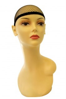 Haarnetz Unterziehhaube Perücken schwarz Haube Perückennetz Wig Cap HNS - Vorschau 3