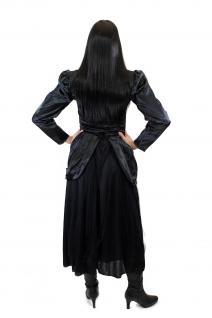 Kostüm Damenkostüm Kleid 80er New Wave Gothic Lolita Barock Hexe Vampirin L002 - Vorschau 4