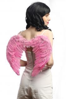 Halloween Karneval Flügel Federflügel Pink Rosa Engel Drag Queen CSD Gothic