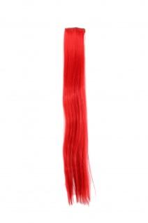 2 Clips Extension Strähne glatt Rot YZF-P2S25-113 65cm Haarverlängerung