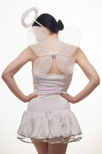 Kostümset Damenkostüm Kleid : Sexy Engel Angel Engelchen Unschuld Ballerina L018 - Vorschau 4