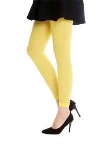 DRESS ME UP Strumpfhose Leggings Damenkostüm Karneval Halloween gelb S/M W-014Y