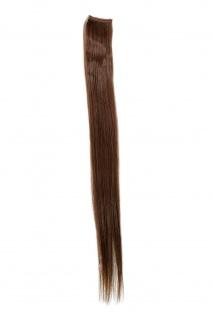 1 CLIP Extension Strähne glatt Hell-Braun YZF-P1S18-8 45cm Haarverlängerung