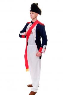 DRESS ME UP - Kostüm Herren Napoleon Bonaparte Offizier Franz. Revolution Gr.S/M