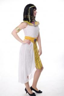 DRESS ME UP - Kostüm Damen Kleopatra Cleopatra Pharaonin Ägypten Mummy Gr. S/M - Vorschau 3