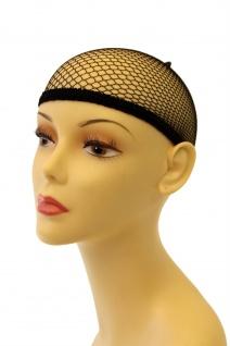 Haarnetz Unterziehhaube Perücken schwarz Haube Perückennetz Wig Cap HNS - Vorschau 2