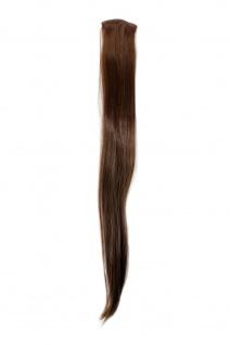 2 Clips Extension Strähne glatt Hell-Braun YZF-P2S25-8 65cm Haarverlängerung