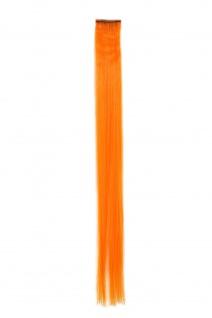 1 CLIP Extension Strähne glatt Orange YZF-P1S18-TF2201 45cm Haarverlängerung