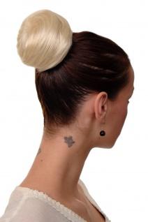Haarteil Dutt Haarknoten Bun 60er Jahre Vintage Look Blond-Mix NHA-004B-24BT613