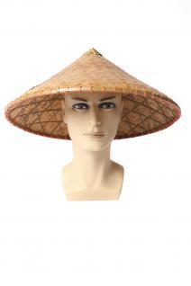 Hut Strohhut Bambushut China Vietnam Japan Asien Chinese Reisbauer Fischer DH004