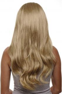 Clip-in Haarteil mit 7 Klammern 3/4 Perücke Honigblond Blond ca. 60cm H9505-16