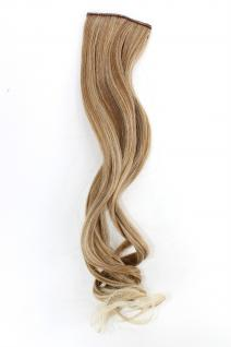 2 CLIP Extension Strähne wellig Blond-Mix YZF-P2C18-27T613 45cm Haarverlängerung